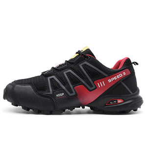 Large size explosion proof hiking shoes, lightweight outdoor sports shoes - thegsnd