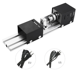 Lathe Machine Tool Mini Mechanical Lathe Torno CNC Milling Machine DIY Woodworking lathe Grinding and Polishing Drill Tool-Lathe Machine-thegsnd-thegsnd
