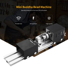Load image into Gallery viewer, Lathe Machine Tool Mini Mechanical Lathe Torno CNC Milling Machine DIY Woodworking lathe Grinding and Polishing Drill Tool-Lathe Machine-thegsnd-thegsnd