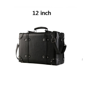 LeTrend Retro Spinner Rolling Luggage Set Women Password Trolley Suitcase Wheels 20 inch Men Vintage Cabin Travel Bag Trunk - thegsnd