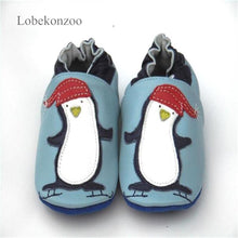 Load image into Gallery viewer, Lobekonzoo  hot sell baby boy shoes  Guaranteed 100% soft soled Genuine Leather baby First walkers for boys   infant boy shoes - thegsnd
