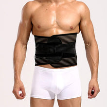Load image into Gallery viewer, Lower Back Posure Corrector Men Women Breathable Waist Support Adult Orthopedic Back Waist support Belt Lumber Braces - thegsnd