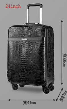 Luxury Travel Suitcase set Rolling Spinner Luggage Women Trolley case with Wheels Man 20