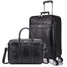 "Load image into Gallery viewer, Luxury Travel Suitcase set Rolling Spinner Luggage Women Trolley case with Wheels Man 20"" boarding box carry on Travel Bag Trunk - thegsnd"