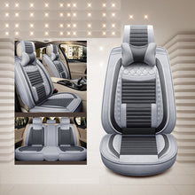 Load image into Gallery viewer, Luxury special flax car seat covers For Hyundai solaris ix35 i30 ix25 Elantra accent tucson Sonata auto accessories car-styling - thegsnd