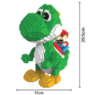 Magic Blocks Big size Yoshi Mini Blocks Mario Micro blocks Anime DIY Building Toys Juguetes Auction Model toy Kids Gifts 9020 - thegsnd