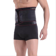 Load image into Gallery viewer, Medical Belt Orthopedic Corset Back Support Men Back Waist Suporte Belts postural correction Breathable Double-side Pulls - thegsnd
