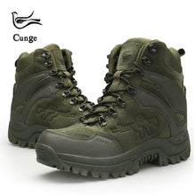 Load image into Gallery viewer, Men's Outdoor Hiking Shoes Military Army Tactical Combat Shoes Boots Anti-slip Anti-collision Trekking Shoes 4 Colors - thegsnd