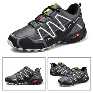 Men's Shoes Outdoor Mountaineering Shoes Off-road Hunting Boots Anti-skid Wear-resistant Trail Shoes Heavy Duty Sneakers - thegsnd
