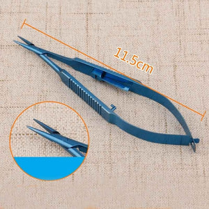 Micro-locking needle holder 12cm14cm16cm18cm pen pin clamp self-locking needle clamp surgical instruments - thegsnd