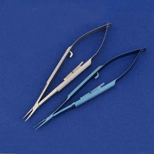 Load image into Gallery viewer, Micro-locking needle holder 12cm14cm16cm18cm pen pin clamp self-locking needle clamp surgical instruments - thegsnd