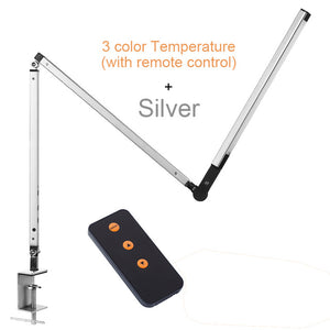 Modern 8W Manicure Desk Lamp bedroom desk light Three Color Temperature Remote Control Adjustable Lamp for Table Luminaire - thegsnd