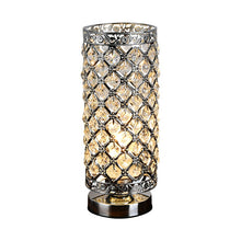 Load image into Gallery viewer, Modern Table Light Crystal LED Table Lamps Beauty Eyeshield Desk Lamps Home Bedroom Living Room Decoration Bedside Desk Light - thegsnd