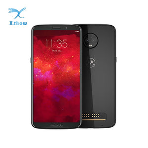 Motorola MOTO Z3 smartphone 6.01'' Snapdragon835 NFC 6GB RAM 128GB ROM 2 Back 1 Front camera Android 8.1 Fingerprint mobilephone - thegsnd