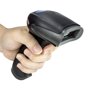 NETUM F18W Wireless 2D Barcode Scanner with Stand AND F16 Handheld USB Wired 1D/2D QR Bar Code Reader PDF417 for Mobile Payment - thegsnd