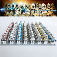 NEW Brand STAR WARS sw442 Storm Clone Trooper Mini Toys COMPATIBLE 75016 75015 Soldiers BLOCK 21Pcs/Lot - thegsnd