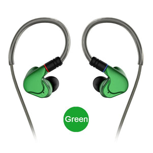 NICEHCK M6 4BA+2DD Hybrid 6 Unit In Ear Earphone HIFI Metal Earphone Earbud Headset Monitor Earphones With MMCX Detachable Cable - thegsnd