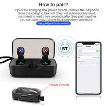 Load image into Gallery viewer, New 2Pcs/Set Ti8s TWS bluetooth Earphones Ear buds Wireless BT 5.0 Stereo Headset with Mic for pods for iphone xiaomi - thegsnd