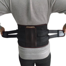Load image into Gallery viewer, New Elastic Adjustable Orthopedic Posture Corrector Brace Lower Back Waist Trimmer Belt Metal Straps Lumbar Support Belt Corset - thegsnd