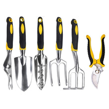 Load image into Gallery viewer, New Garden Tools Set Heavy Duty Cast-aluminum Heads Ergonomic Handles Gardening Tool XOA88 - thegsnd