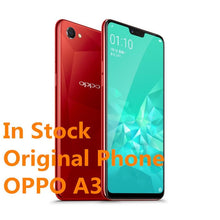 "Load image into Gallery viewer, New Original Oppo A3 4G LTE Mobile Phone 4GB RAM 128GB ROM MTK6771 Octa Core Android 8.1 6.2"" IPS 2280x1080  16.0MP Face ID - thegsnd"
