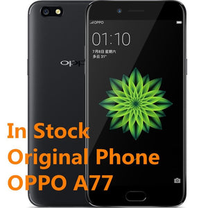 "New Original Oppo A77 4G LTE Mobile Phone Android 7.1 5.5"" IPS 1920x1080 Snapdragon 625 4G RAM 32G ROM 16.0MP Fingerprint Phone - thegsnd"