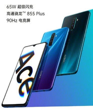 "Load image into Gallery viewer, New Original Oppo Reno Ace 4G LTE SmartPhone Snapdragon 855 48.0MP 65W Super VOOC Plus Android 9.0 6.5"" 90HZ 12GB RAM 128GB ROM - thegsnd"