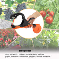 New Style Garden Tapetool Plant Vegetable Hand Tying Binding Machine Tape Tools For Garden Supplies - thegsnd