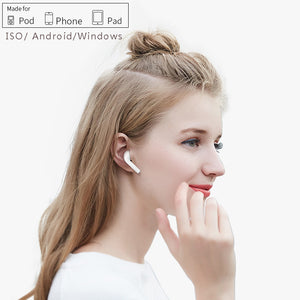 Newlife Bluetooth earphone BT 5.0 Headsets Touch Control Headphones with wireless  Charging function for iphone xiaomi  Наушники - thegsnd