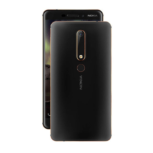 Nokia 6 Second generation 2nd TA-1054 Mobile phone 5.5'' 16.0MP 3000mAh 4GB 64GB Snapdragon 630 Octa core Android Smartphone - thegsnd
