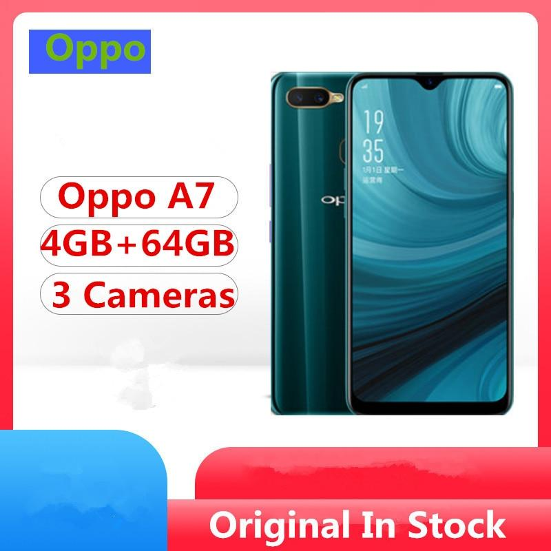 Oppo A7 4G LTE Smart Phone Snapdragon 450 Android 8.1 6.2