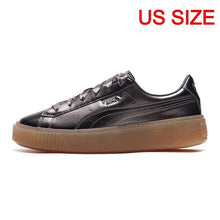 Load image into Gallery viewer, Original New Arrival 2018 PUMA BASKET PLATFORM LUXE Women's Skateboarding Shoes Sneakers - thegsnd