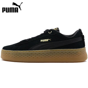 Original New Arrival 2018 PUMA Smash Platform Frill Women's  Skateboarding Shoes Sneakers - thegsnd