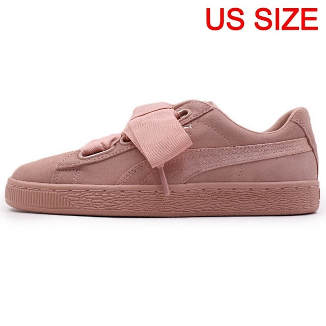 Original New Arrival 2018 PUMA Suede Heart EP Women's Skateboarding Shoes Sneakers - thegsnd