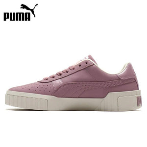 Original New Arrival 2019 PUMA Cali Nubuck  Women's  Skateboarding Shoes Sneakers - thegsnd