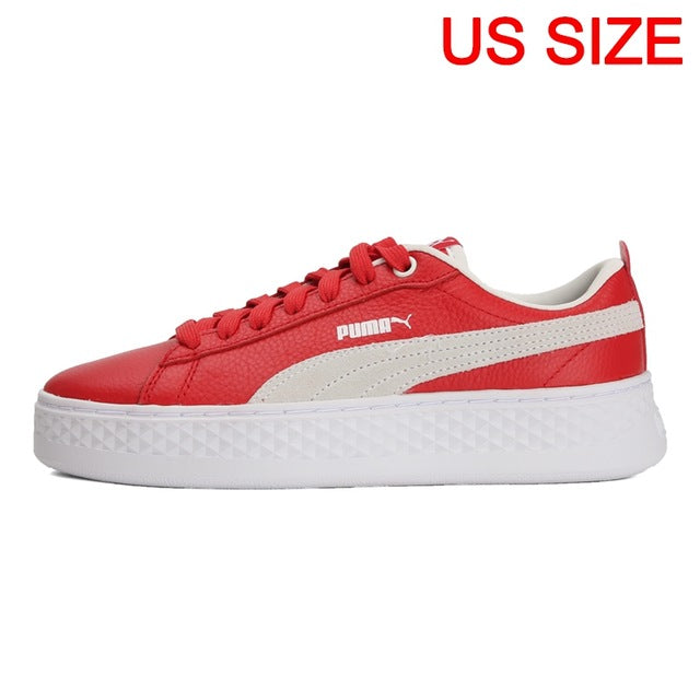 Original New Arrival 2019 PUMA Smash Platform L Women's  Skateboarding Shoes Sneakers - thegsnd