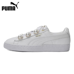 Original New Arrival  PUMA  Basket Bling Women's Skateboarding Shoes Sneakers - thegsnd