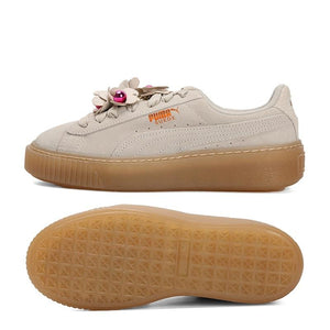 Original New Arrival PUMA Platform Flower Tassel Wns Women's Skateboarding Shoes Sneakers - thegsnd