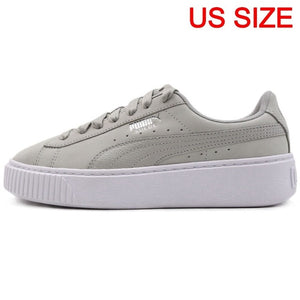 Original New Arrival  PUMA Platform Shimmer Women's  Skateboarding Shoes Sneakers - thegsnd