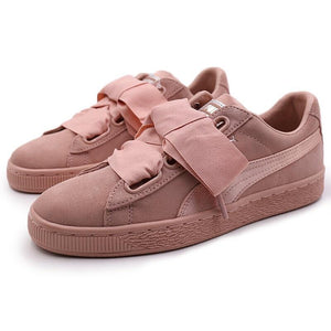 Original New Arrival  PUMA Suede Heart EP Women's Skateboarding Shoes Sneakers - thegsnd