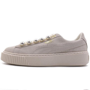 Original New Arrival  PUMA  Suede Platform Bling Women's  Skateboarding Shoes Sneakers - thegsnd