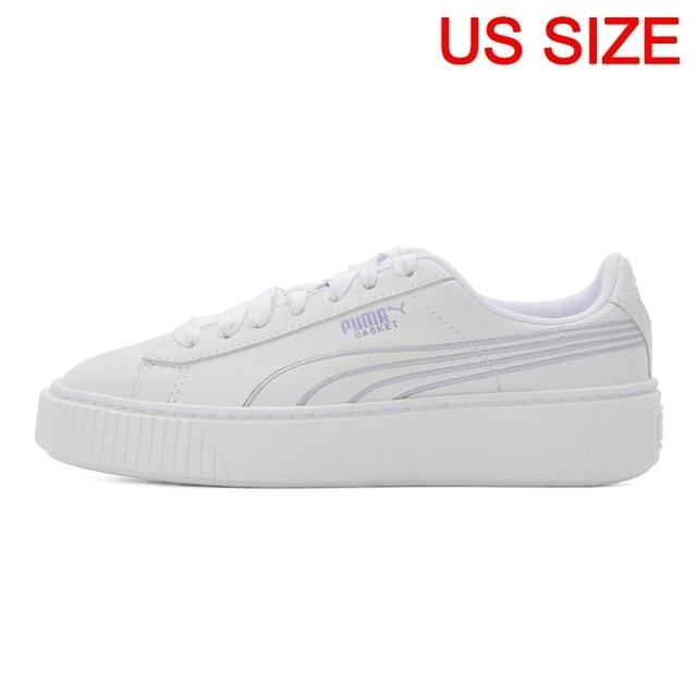 Original New Arrival  PUMA Women's Platform Twilight Skateboarding Shoes Sneakers - thegsnd