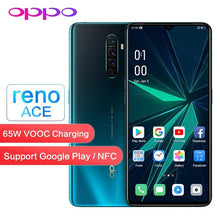 Load image into Gallery viewer, Original OPPO Reno Ace 90HZ Game Screen Support NFC Google Play Global ROM OTG 8GB 128GB 48.0MP 65W VOOC WIFI Mobile Smart Phone - thegsnd