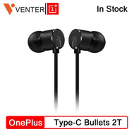 Original OnePlus Type-C Bullets Earphone 2T Bullets Wireless 2 In Ear Dynamic Drive Units 1.15 m For Oneplus 7 Pro Built-in DAC - thegsnd