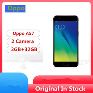 "Original Oppo A57 4G LTE Mobile Phone Snapdragon 435 Android 6.0 5.2"" IPS 1280x720 3GB RAM 32GB ROM 16.0MP Fingerprint - thegsnd"