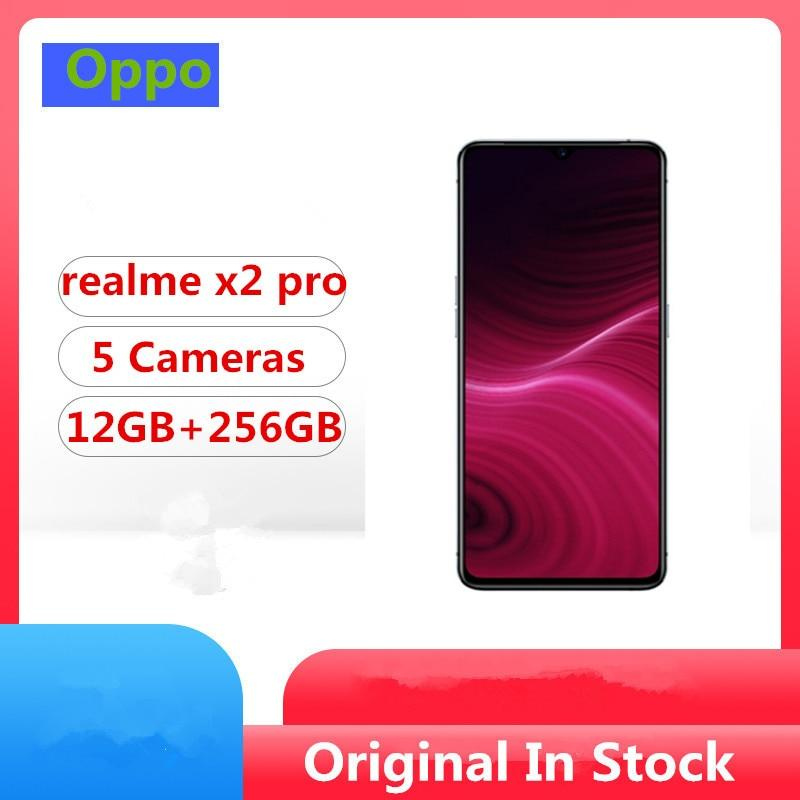 Original Oppo Realme X2 Pro Mobile Phone Snapdragon 855 Plus Android 9.0 6.5