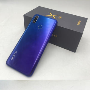 Original Oppo Realme x lite 4G LTE 6GB 128GB Snapdragon 710 Octa Core 6.3 inch Screen 4045 mAh Dual Rear Camera Cell Phone - thegsnd