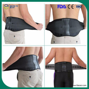 Orthopedic Waist Belt Men Corset Back Support Back Brace Lower Back & Lumbar Supports Fitness Belt Large Size XXXL - thegsnd