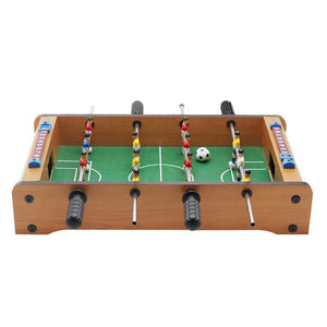 Outdoor Camping Hiking tools Mini Wooden Kids Children's Table Football Machine Table Soccer Toys - thegsnd