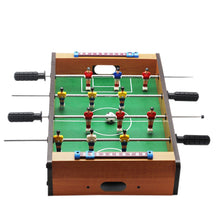 Load image into Gallery viewer, Outdoor Camping Hiking tools Mini Wooden Kids Children's Table Football Machine Table Soccer Toys - thegsnd